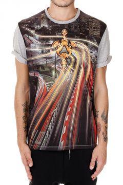 T-shirt manica corta Stampata