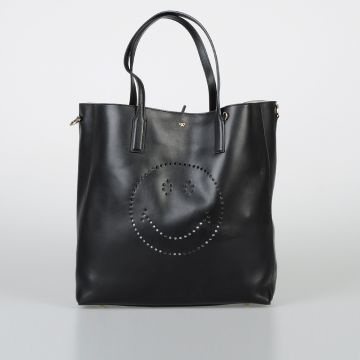Borsa EBURY FEATHERWEIGHT TOTE SMILEY in Pelle