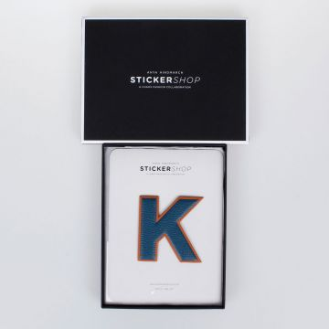 STICKERSHOP Leather K Sticker