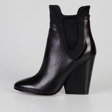 10 cm Leather BAZAR Ankle Boots