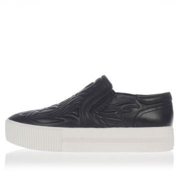 KONG Flatform Leather Slip on Shoes