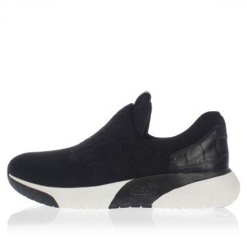 Sneakers SPOT Pull on in tessuto e pelle