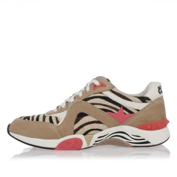 Sneakers HENDRIX in Pelle con Cavallino