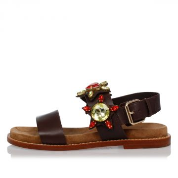 Leather Jewel MALIBU Sandals