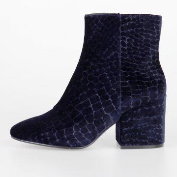 7,5 cm Velvet ERIKA Ankle Boots