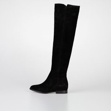 1,5 cm Suede JESS Over the Knee Boots