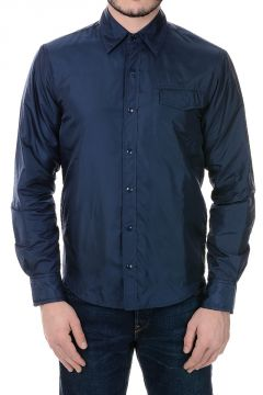 Nylon Jacket With Breast Pocket