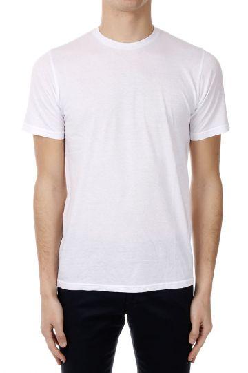 T-Shirt in Cotone a Girocollo