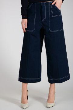 Jeans TEXEL N DEN Wide-Leg in Denim 31 cm