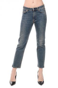 Cotton Blend Jeans 16 cm