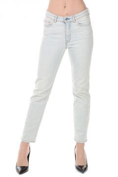 Cotton Blend Jeans 15 cm