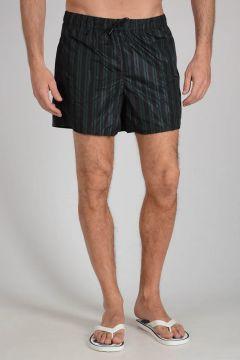 Nylon Striped Swimsuit