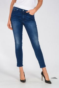 Jeans SKIN 5 MID TRUTH In Denim stretch 13 cm
