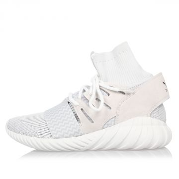 Sneakers TUBULAR DOOM in Pelle e Tessuto