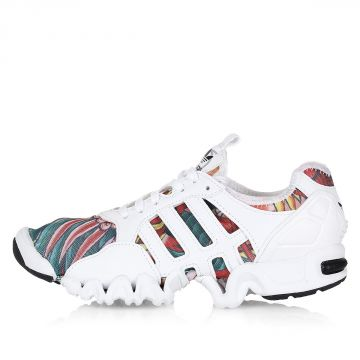 Textile and Rubber Patterned SML W Sneakers