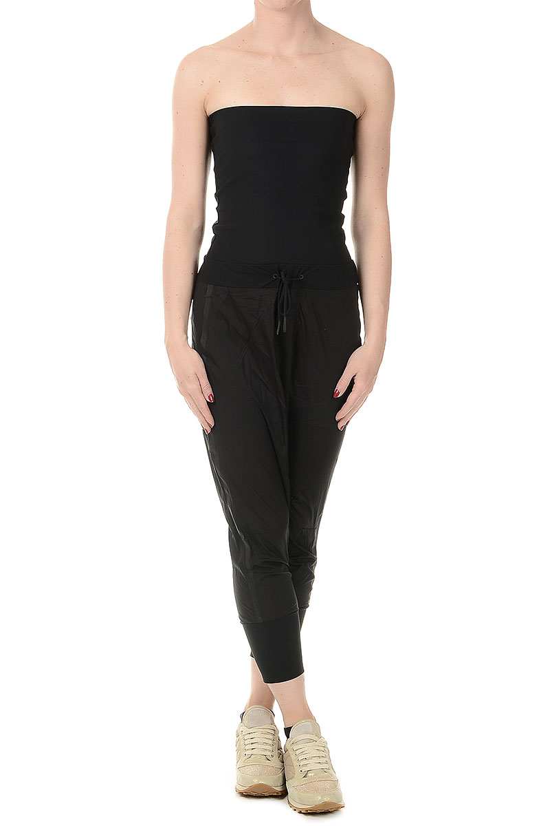 adidas women y 3 strapless jumpsuit spence outlet. Black Bedroom Furniture Sets. Home Design Ideas