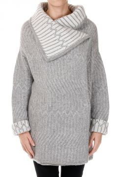 Cashmere & Silk Knit Coat