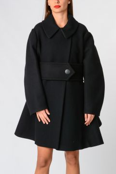 Wool Nylon Coat