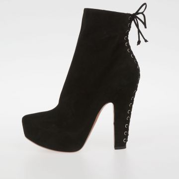Suede Ankle Boots 15 Cm