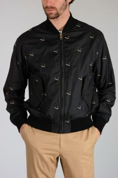 Embroidery Bomber