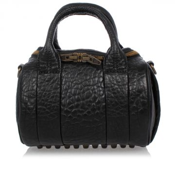 Trunk Bag in Leather