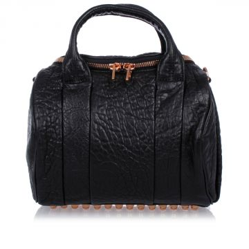 Tumbled Leather Trunk Bag