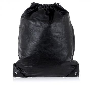 Leather Sac Gym Backpack