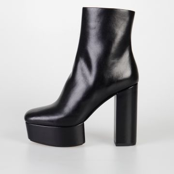 11 cm CORA Leather Ankle Boots