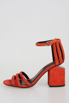 Suede CAGE ABBY Sandals