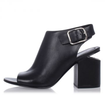 Leather NADIA Shoes With Heel