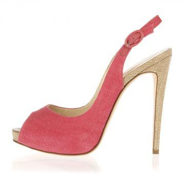 Slingback Pump Shoes 13 cm