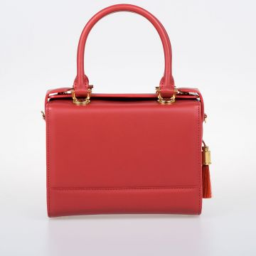 LISBON MINI Leather Handle Bag