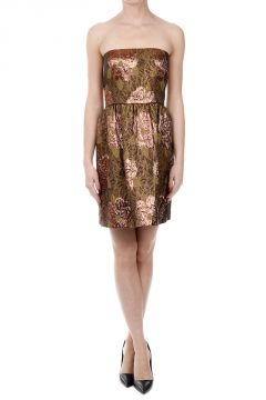 Brocade Fabric Dress