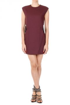 Sleeveless Stretch DOUBLE WOOL Dress
