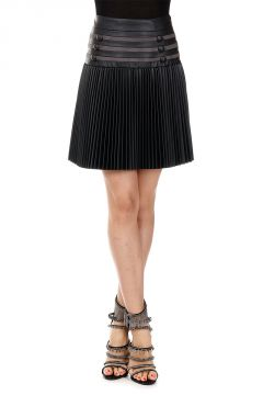 ECOLEATHER PLISSE Skirt