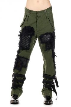 CARGO Pants with Embroideries