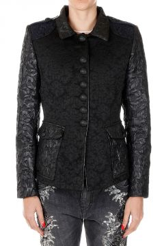 Jacquard MIX BROCADE MILITARY Jacket