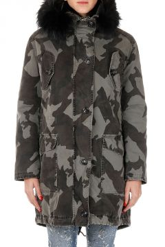 Giubbotto CAMOUFLAGE PARKA WITHOUT