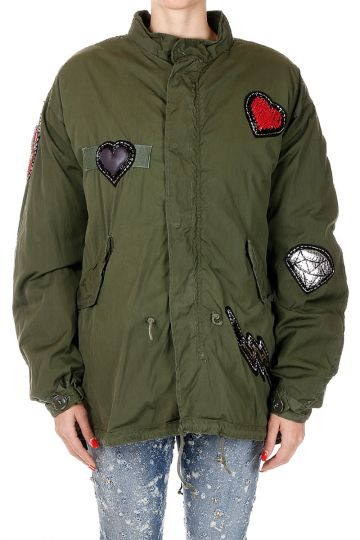 PARKA Jacket with Sequins
