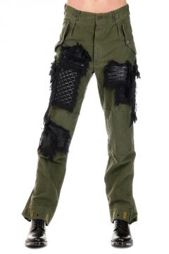 Pantaloni PATCH CARGO con Ricami
