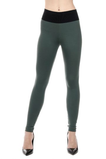Leggings In Tessuto Stretch