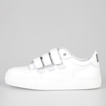 Leather BASKET SCRATCH SEMELLE H Sneakers