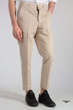 Pantalone In Cotone e Lino
