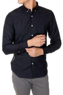Camicia Button-down in Lana