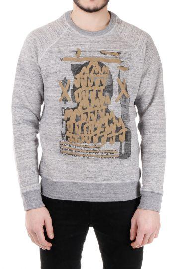 BAST Printed Necklace Sweatshirt