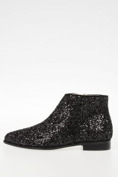BRIGHT Glittered Ankle Boots