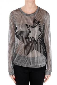 Long Sleeved T-shirt with Star
