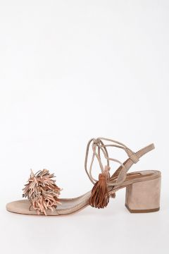 5Cm Leather Suede Leather Sandals