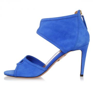 Leather Sandals with 9 cm heel