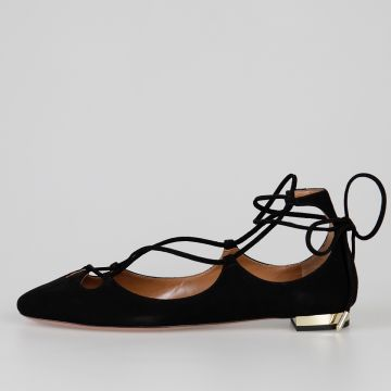 Suede Leather DANCER Flats